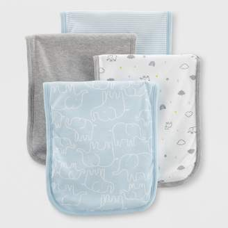 Carter's Just One You made by carter Baby 4pk Burp Cloths - Just One You® made by One Size