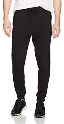 Calvin Klein Jeans Men's Velour Fleece Logo Sweatpants
