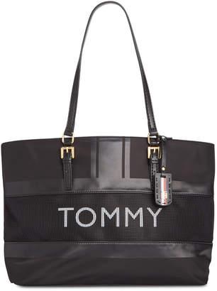 86c09fc4cdb5e4 Tommy Hilfiger Nylon Tote Bags - ShopStyle