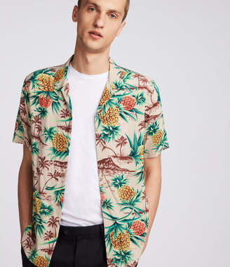 AllSaints Endeavour Hawaiian Shirt