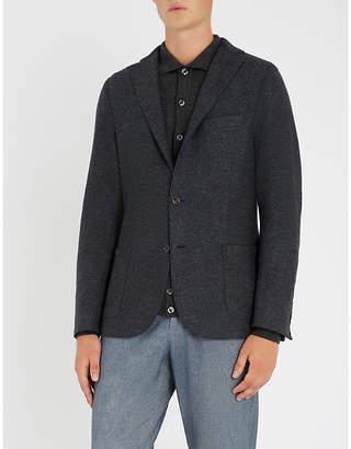 Eleventy Regular-fit wool-flannel jacket