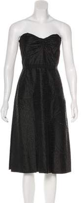Tracy Reese Silk Embroidered Dress w/ Tags