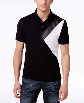 INC International Concepts I.n.c. Men's Colorblocked Polo, Created for Macy's
