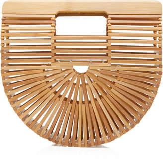 Cult Gaia Mini Ark Bamboo Clutch