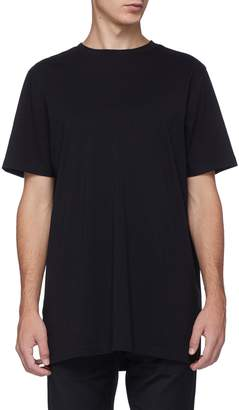 Matthew Miller Square panel appliqué Supima cotton T-shirt