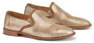 Trask Ali Metallic Leather Loafer