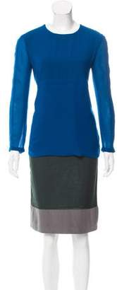 Cédric Charlier Colorblock Shift Dress