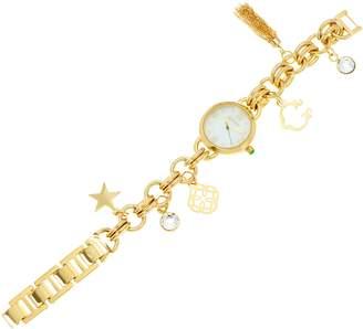 C. Wonder Mother of Pearl Charm Bracelet Watch