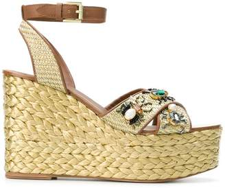 Ash Tulum wedge sandals