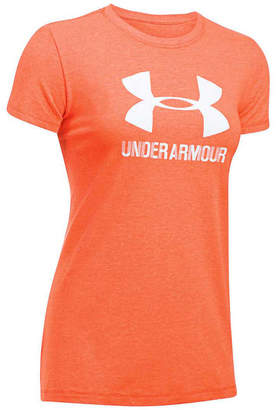 Under Armour Womens Sportstyle Crew Tee