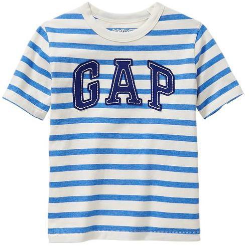 Gap Arch logo striped T