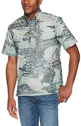 Reyn Spooner Men's Diamond Head Spooner Kloth Classic Fit Pullover Shirt