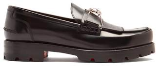 Christian Louboutin 'bubbly' Leather Loafer - Mens - Black