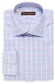 Hickey Freeman Cotton Classic-Fit Dress Shirt