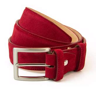 40 Colori - Red Trento Leather Belt