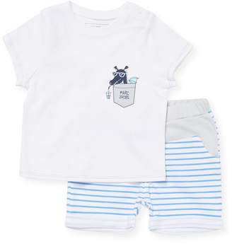 Little Marc Jacobs Two-Piece Pajama Set