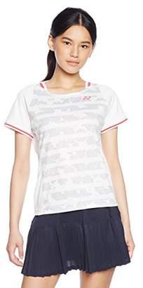 Yonex (ヨネックス) - (ヨネックス)YONEX テニス・バトミントンウェア シャツ 20383 [レディース] 20383 011 ホワイト O