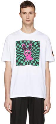 McQ White Boyfriend Bunny T-Shirt