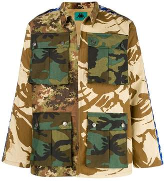 Paura x Kappa military jacket