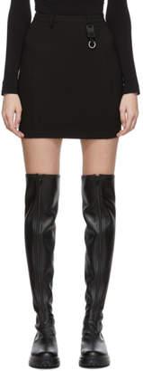 Alyx Black Dria Buckle Miniskirt