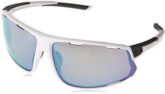 454667e1db82c Under Armour Wrap Sunglasses UA STRIVE SATIN WHITE CARBON BASEBALL l