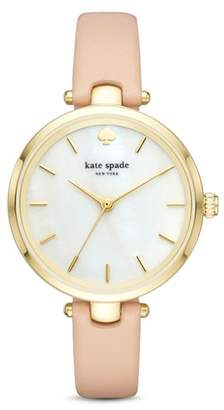 Kate Spade Leather Holland Watch, 34mm