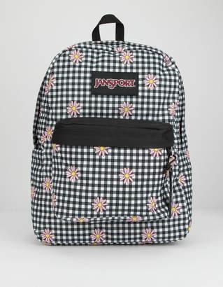 JanSport Ashbury Gingham Daisy Backpack