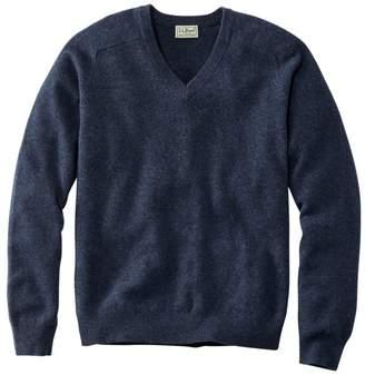 L.L. Bean Men's L.L.Bean Lambswool V-Neck Sweater