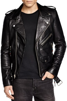 BLK DNM Leather Biker Jacket $995 thestylecure.com
