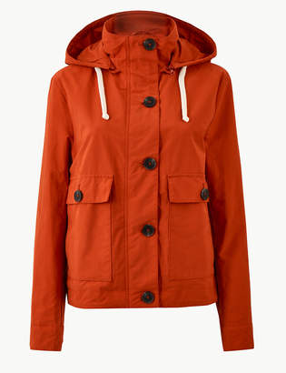 M&S CollectionMarks and Spencer Hooded Fleece Jacket
