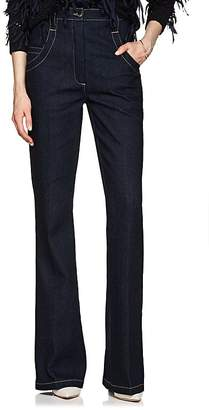 Nina Ricci Women's High-Waist Bell-Bottom Jeans