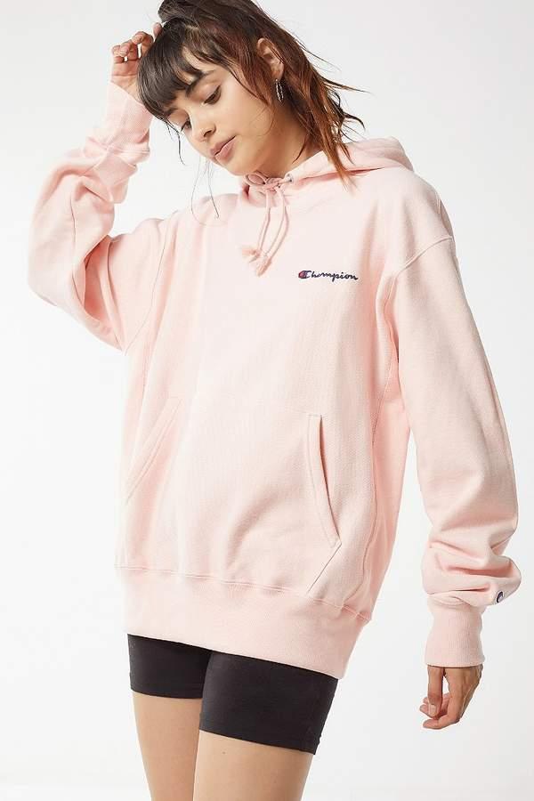 & UO Reverse Weave Hoodie Sweatshirt