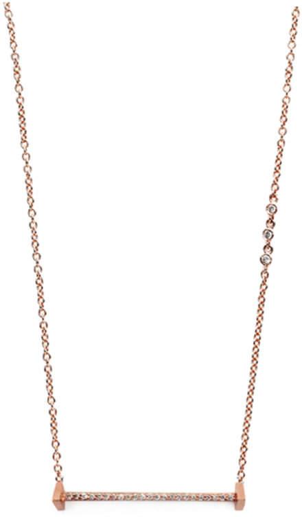 "Paige Novick Diamond Bar Necklace ""Essentials"""