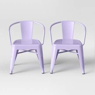 Pillowfort Set of 2 Industrial Activity Chair - Pillowfort