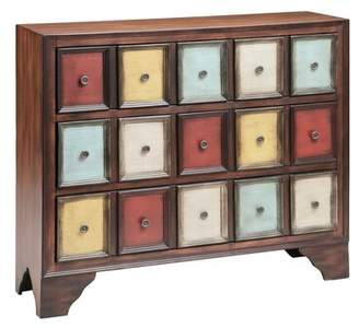 Bungalow Rose Stonington 3 Drawer Accent Chest