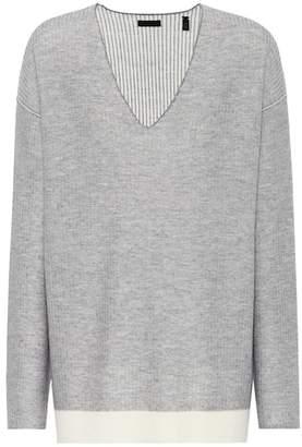 ATM Anthony Thomas Melillo Wool V-neckline sweater