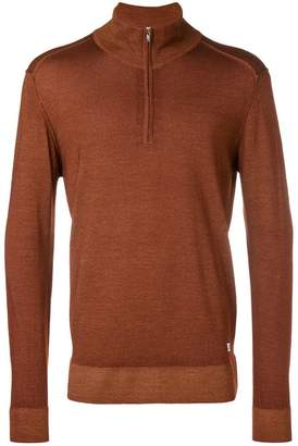 C.P. Company front zip pullover