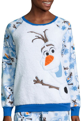 DISNEY Disney Olaf Fleece Pant Pajama Set-Juniors $31.99 thestylecure.com