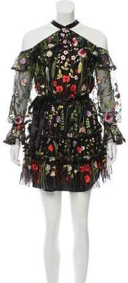 Alexis Adeline Embroidered Dress w/ Tags