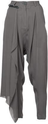 Isabel Benenato asymmetric harem trousers