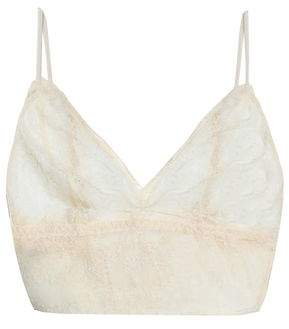 Anine Bing Corded Lace Soft-cup Triangle Bra