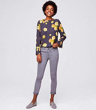 LOFT Tall Modern Skinny Crop Jeans