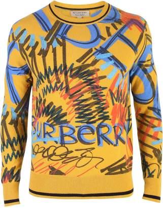 Burberry Multicolored Intarsia Sweater