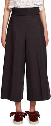 Cédric Charlier Women's Smocked Culotte