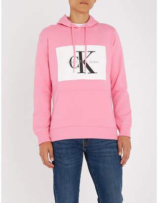at Selfridges · Calvin Klein Jeans Hotoro cotton-jersey hoody d29e29e300