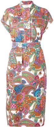 Ports 1961 paisley midi dress