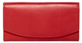 Skagen Leather Flap Wallet $115 thestylecure.com