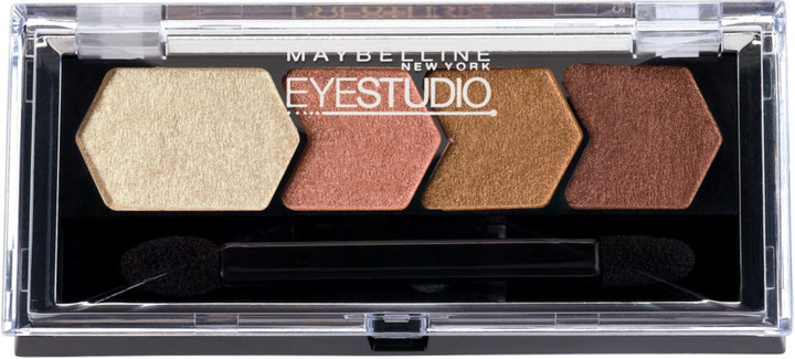 Maybelline Eye Studio Color Plush Silk Eyeshadow Quad