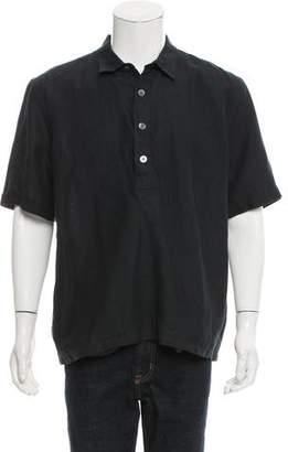 Our Legacy Linen Polo Shirt