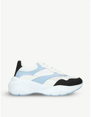 Aldo Merurka faux-leather and mesh trainers